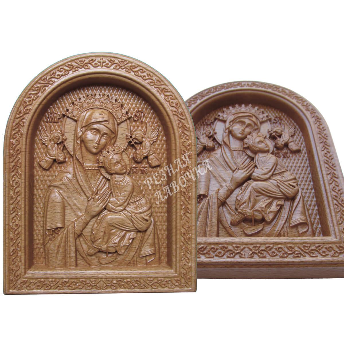 Икона Богоматерь Неустанной помощи