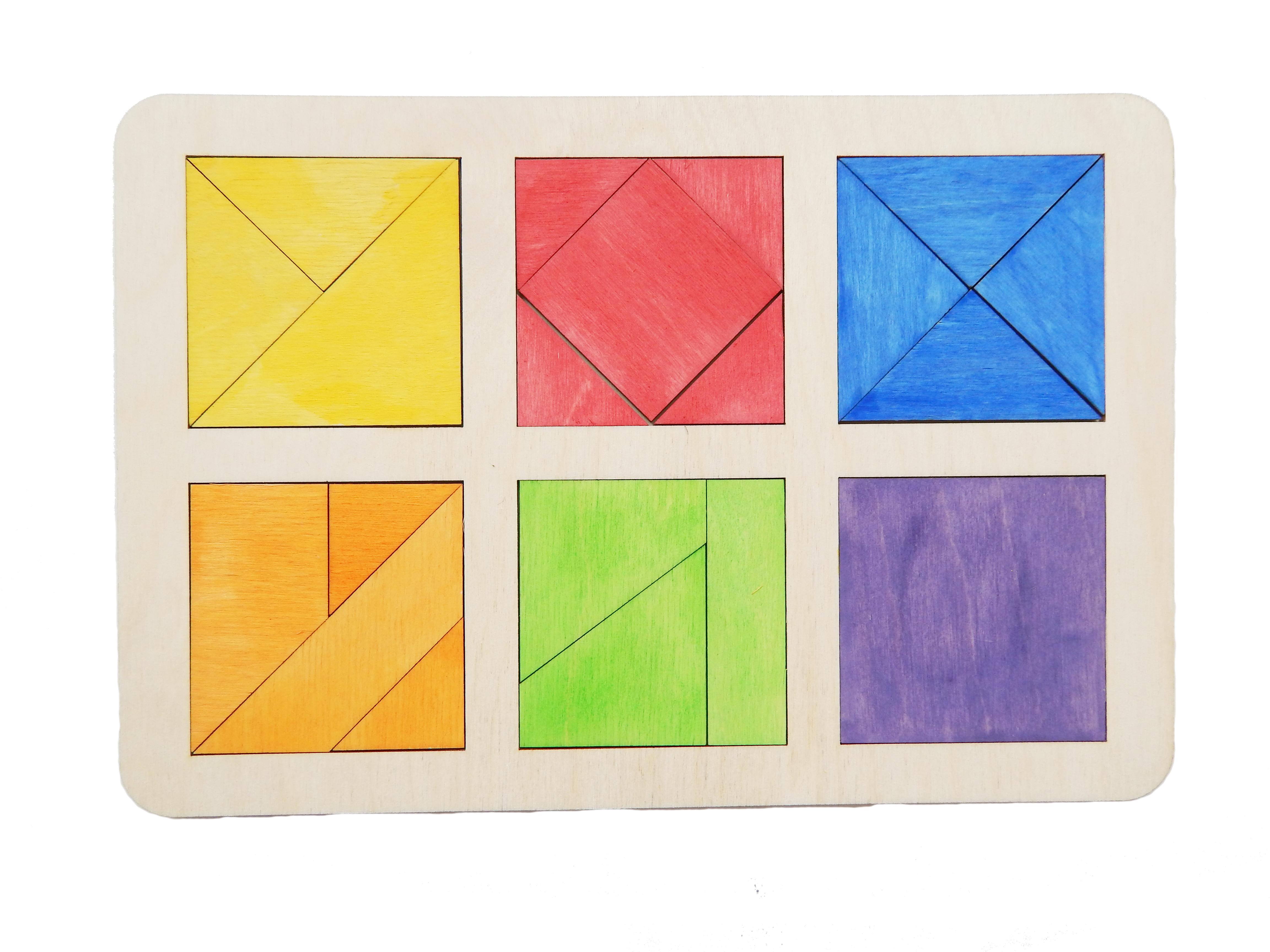 Купить квадрат Никитина